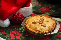 French Canadian Christmas pie
