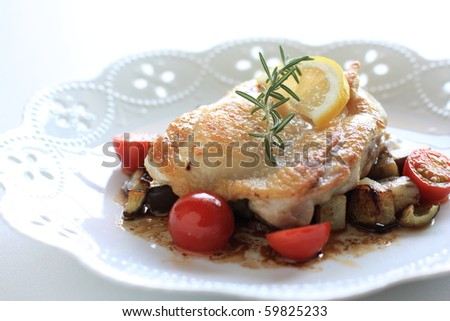 French cuisine, chicken sautee