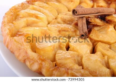 french dessert, apple tarte tatin