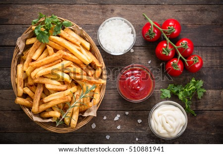 French fries #510881941
