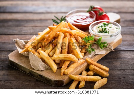 French fries #510881971