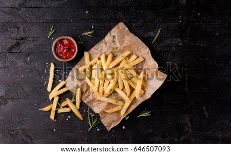 French fries  #646507093