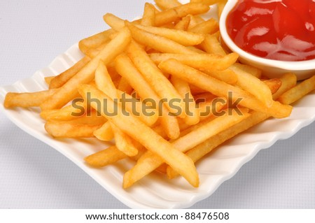 French Fries 13 - stock photo