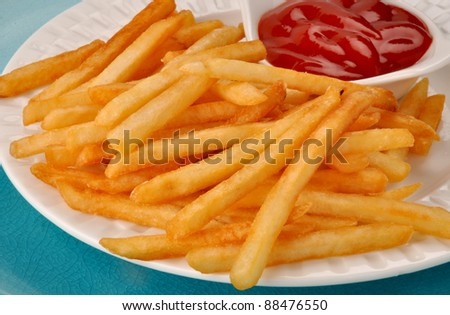 French Fries 3 - stock photo
