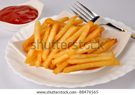 French Fries 8 - stock photo