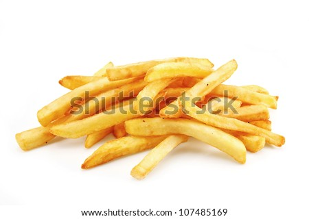 French Fries or Chips originally called pommes frites and more recently named freedom fries in america