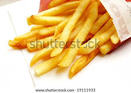 French Fries the ultimate Fast Food Snack of the masses