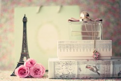 French girly still life
