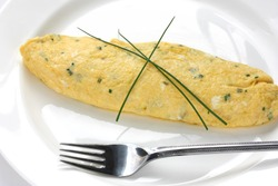 French Omelet with Herbs