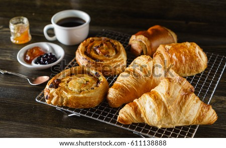 Photo of french pastries