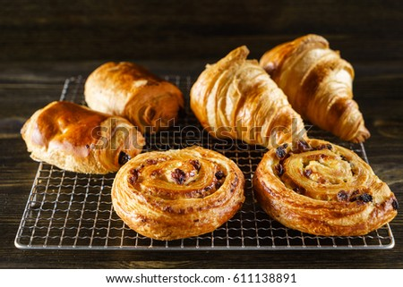 french pastries #611138891