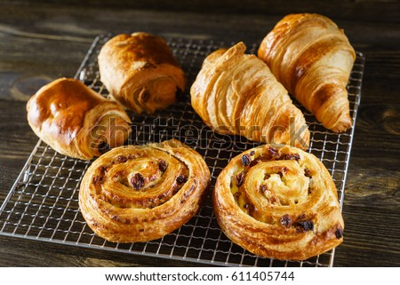 french pastries #611405744