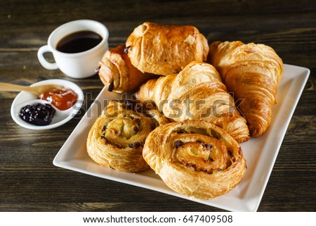 french pastries #647409508
