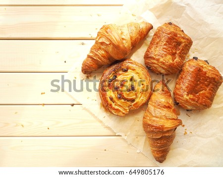 French pastries #649805176