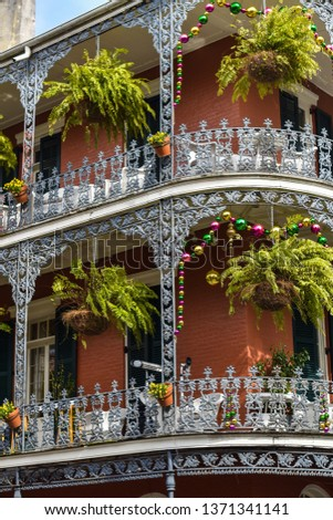 French quarter details