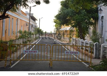 French Quaters Pondicherry #691472269