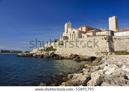 French Riviera. France. Cote Azur. Antibes.