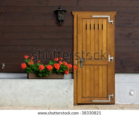 french style door entrance