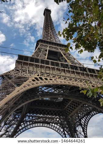 French travel and discovery paris