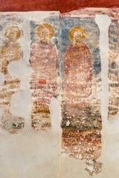 Frescoes of the Patriarchate of Pec (Peja), Kosovo (UNESCO world heritage site)