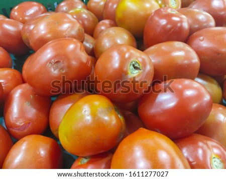 Fresh and colorful fresh vegetables