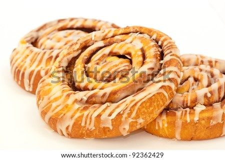 Fresh and delicious cinnamon rolls