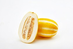 fresh and delicious yellow melon fruit