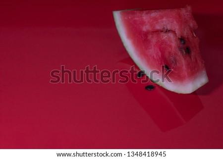 fresh and juicy watermelon  #1348418945