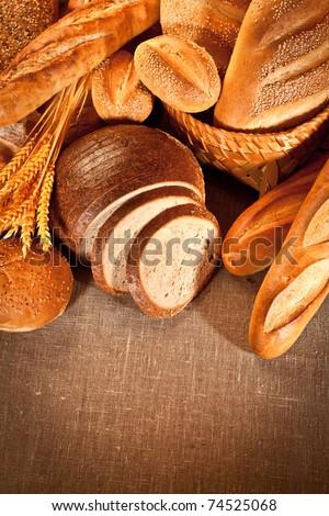 Fresh and soft tasty bread