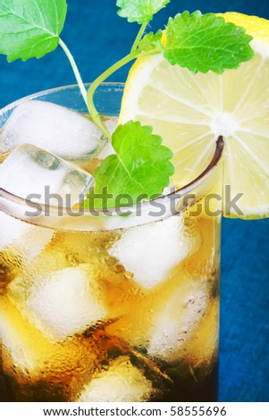 Fresh and tasty Ice tea.