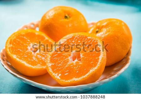 Fresh and tasty oranges #1037888248