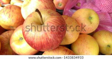 Fresh apple in the market