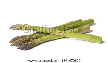 Fresh asparagus  isolated on white background Stock photo ©