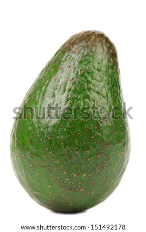 Fresh avocado. - stock photo