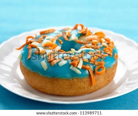 fresh baked donut