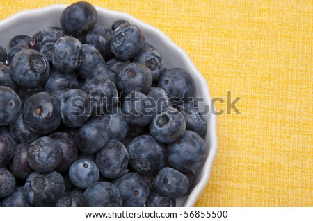 Fresh Blueberry Border