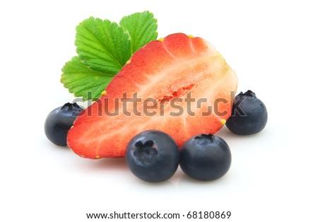 Strawberry & Blueberry