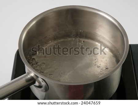 fresh boiled water