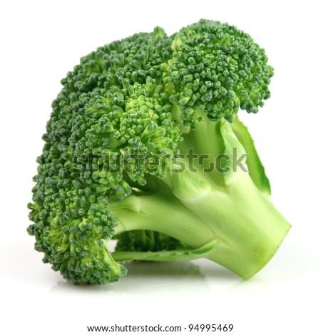 Fresh broccoli in closeup