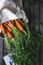 Fresh Carrots from Farmer Market