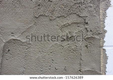 Fresh concrete on construction site #157626389