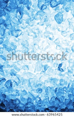 fresh cool ice cube background or wallpaper for summer or winter