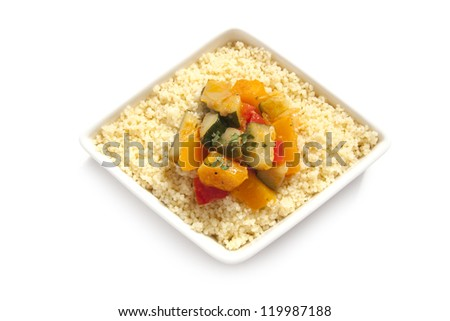 Fresh Couscous with Vegetables