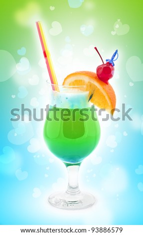 Fresh drink coctail