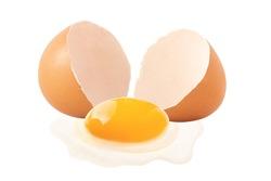 fresh eggs  isolated on white background., concept Egg Fresh from farm