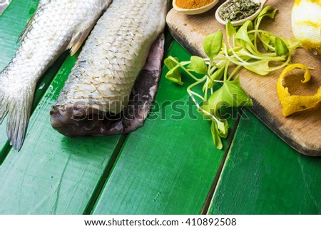 Royalty free stock photos and images fresh fish silver for Aromatic herb for fish