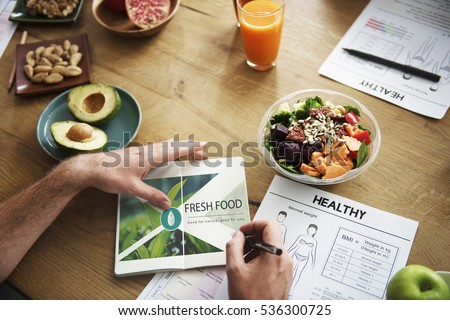 Fresh Food Healthy Lifestyle Organic