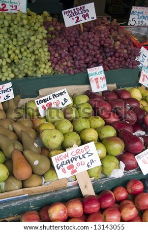 Fresh fruit at Pikes Place