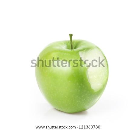 Fresh fruit  , Green Apple