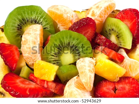 Fresh fruit macedonia